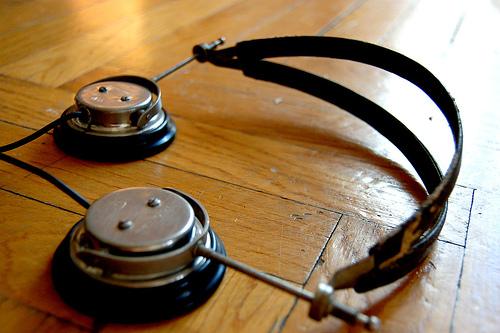 Steampunk headphones