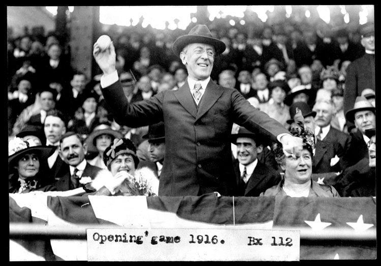 Woodrow Wilson makes his pitch for congressional oversight