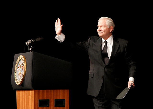 Sec Def Bob Gates feels like his message is not being heard