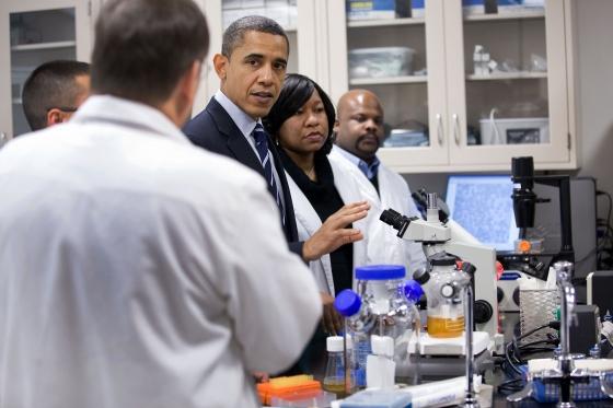 President Obama the Scientist