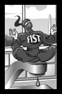 Crouching fist, hidden complexity