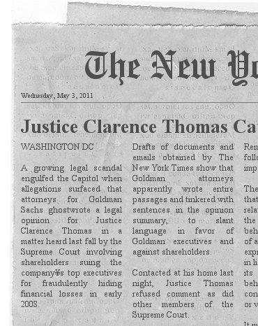 Ghostwriting scandal rocks supreme court...psych