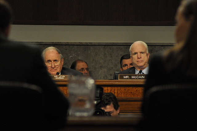 Levin and mccain