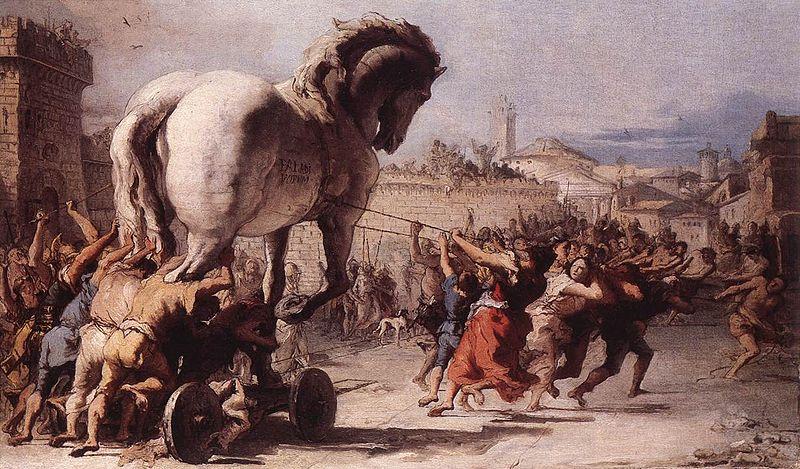 800px-Giovanni_Domenico_Tiepolo_-_The_Procession_of_the_Trojan_Horse_in_Troy_-_WGA22382