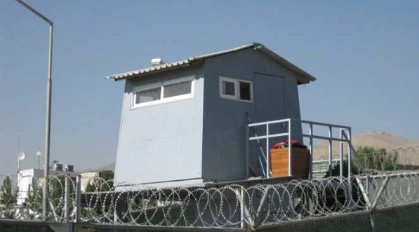 Camp falcon guard tower