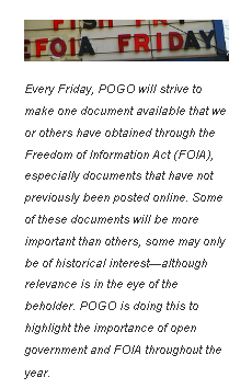 Foia friday