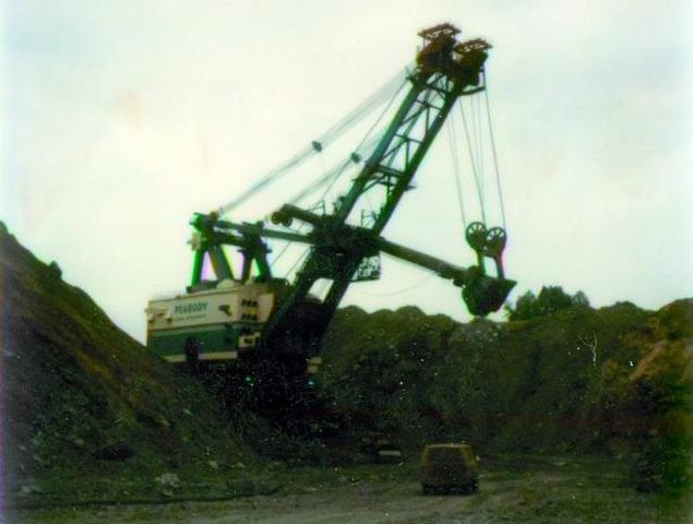 Peabody coal mine - 1975