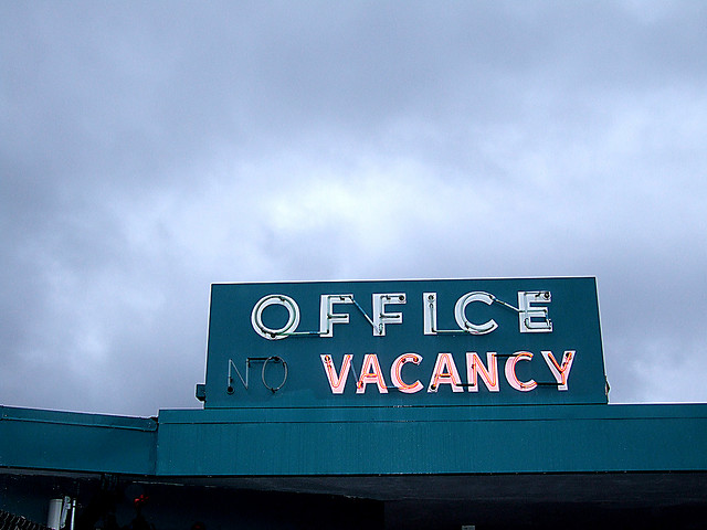 Office Vacancy -- the story of the federal government inspector general system