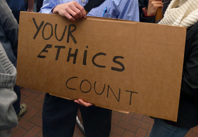 Your ethics count
