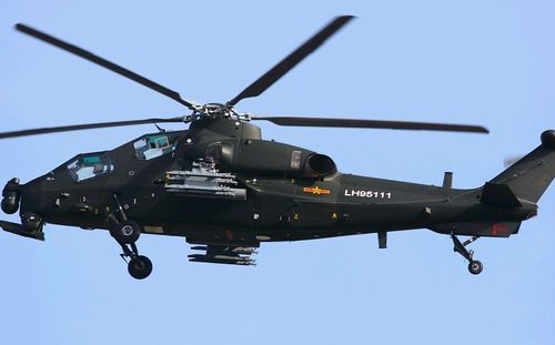 Chinese Z-10 Attack Helicopter by asian defence (5)
